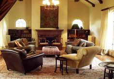 Mediterranean living room can serve many different functions. If you have a family room,here are 30 Amazing Mediterranean Living Design
