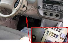 7 Ford Explorer (2002-2005) fuses and relays ideas | ford explorer, fuse box,  electrical fuse | Ford Falcon Station Wagon Fuse Box |  | Pinterest