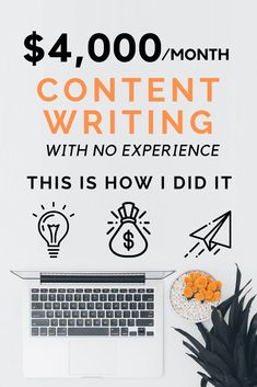 Four years ago, I quit my boring job to become a full time freelance writer and I have never looked back. It was difficult, it required a lot of hard work, but it wasn't impossible. Writing Topics, Writing A Book, Writing Ideas, Content Writing Courses, Quitting Job, Becoming A Writer, I Quit My Job, Freelance Writing Jobs, Make Money Writing