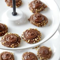 With a double shot of chocolate and hazelnut flavors, kids and adults will rave over these filled cookies. The espresso powder is...