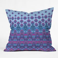 Aimee St Hill Farah Blooms Outdoor Throw Pillow | DENY Designs Home Accessories