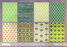 TS3 version can be found here.  DOWNLOAD | TS4 Rug Download Folder  Credit: peacemaker-ic for the idea, wayfair.com for the textures, and EA for the mesh. Made with Sims 4 Studio. Update: Jun-28-15 | now fully work with the design tool