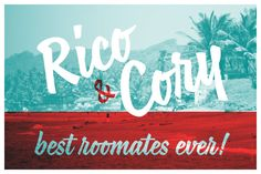 Rico & Cory best roommates ever! Published by Maan Ali