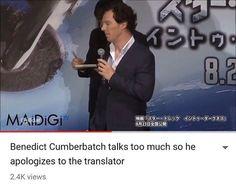 "116 Likes, 2 Comments - Benedict Cumberbatch/Sherlock (@cumbermeme) on Instagram: ""Haha bless his soul #sherlock #sherlockholmes #watson #johnwatson #johnlock #martinfreeman…"""