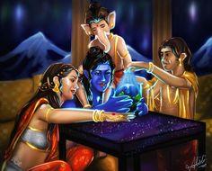 Shiva Parvati Images, Mahakal Shiva, Lakshmi Images, Shiva Art, Hindu Art, Lord Shiva Pics, Lord Shiva Hd Images, Ganesh Images, Lord Shiva Family