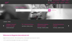 A sneaky #website #redesign for @LtdMagenta - check out https://magrec.co.uk/  for all their latest #construction #catering #jobs