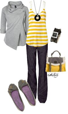 """Fall Classes"" by adelaet ❤ liked on Polyvore"