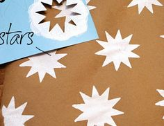 Easy and Creative DIY Gift Wrap Ideas - DIY Stencils - Click Pic for 25 Gift Wrapping Ideas for Christmas
