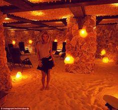 Salt Cave Spa, Himalayan Salt Room, Anna Heinrich, Bachelor Couples, Float Spa, Sauna Design, S Spa, Architectural House Plans, Beauty Room
