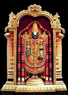 Lord Venkateshwara (via Dolls of India)