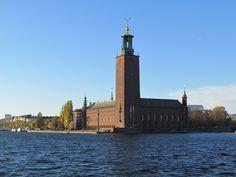 Stockholms stadshus.