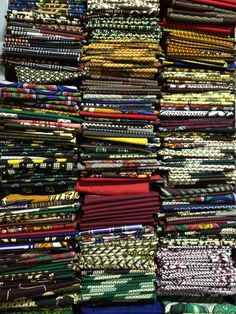 Capalana Fabric Shop in Mozambique