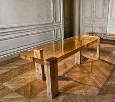 Epoxy resin and wood