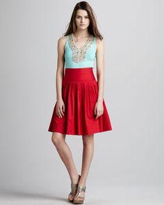 Summerland Flared Skirt by Nanette Lepore