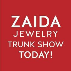 Today Is The Day Zaida Fans!!! The Spring Trunk Show will be open from 2 to 5pm today @flygirldanceandfitness Don't miss it!!!