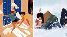 Le bonheur d'une vie à deux se cache dans la simplicité ! Pascal Campion, Dreamworks, Image Couple, Happy Love, Positive Life, American Artists, Thriller, Disney Characters, Fictional Characters