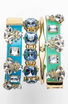 Glamour| Serafini Amelia| BaubleBar Bracelets & Cuff  available at #Nordstrom