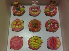 Chinese New Year Cupcakes Rabbit Theme