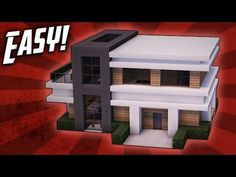 Minecraft: How To Build A Small Modern House Tutorial (#18) - Minecraft Servers View