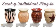 The Scentsy Plug-in warmer is sized to fit into small spaces, such as bathrooms, laundry rooms and dorm rooms. They make a great night light as they only use a 15 watt bulb. The base rotates to allow for use in horizontal or vertical wall outlets. These are ingenious wickless candles that allow you to instantly and effortlessly swap between your favorite Scentsy fragrances. When you are tired of your Scentsy scents, you just undo the base; pour the old melted wax back into its original…