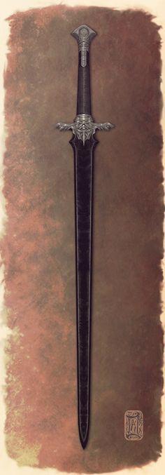 Espada Longa Negra