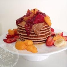 Wheatless Wednesday: Healthy multigrain pancakes (very low gluten, no wheat, dairy-free)
