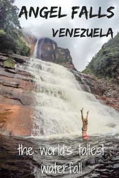 Visiting Angel Falls, Venezuela - the tallest waterfall in the world, one of the best adventure activity to do in South America, Best of South America, What to do in South America, Things to do in South America