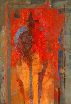 Composition, 1961 by Rufino Tamayo, pintor mexicano.