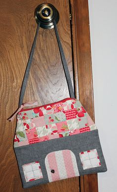 Zakka Style House Pouch by flickrdeb50, via Flickr