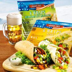 ALDI Nord - Rezept - Salat-Hackfleisch-Wraps