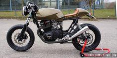 DIY Suzuki GSX400 Cafe-Racer Is Sleek and Slender - Photo ...