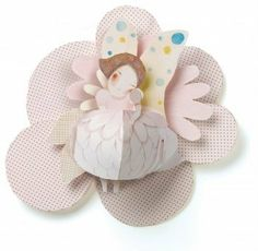 Djeco / Pop-Up Wall Decor, Pretty Elf by Djeco. $18.89. Beautiful and substantial 3-dimensional art pops up right before your eyes. Unique room décor that can be enjoyed by all ages. The beautiful elf with her fairy wings and petal skirt will dance blithely on your child's wall. Pretty Elf was designed in France by Elodie Nouhen and children's author Dario Cestaro. Constructed of sturdy paper in a fashion similar to the finest pop-up book art. Djeco pop-up wall decor is a...