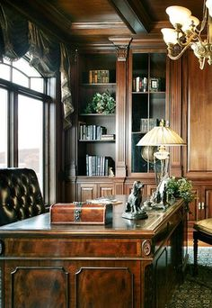 Elegant study - library