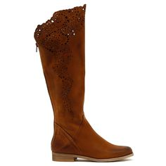 184V by Beltrami.  This soft leather knee high boot is both eyecatching and effortless. The laser cut detail makes it stand out in the crowd, yet you can wear them day and night, no effort required. Capture anyone's attention and pair these stunners with tucked in leggings and a beautifully cut blazer.  2.5cm heel. Leather upper, leather lining. Manmade sole. Made in Italy. Knee High Boots, Soft Leather, Effort, Crowd, Cowboy Boots, Wedges, Italy, Pairs, Leggings