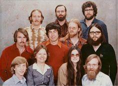 Microsoft's 1978 Company photo:)