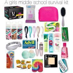 Middle School Survival Kit for Girls