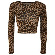 Shop WearAll Womens Aztec Animal Print Crop Top Ladies Leopard Long Sleeve Short - Sizes Free delivery and returns on eligible orders. Crop Top And Shorts, Long Sleeve Crop Top, Animal Print Crop Tops, Animal Prints, Cheetah Print Outfits, Jeans And Flats, Boho Tops, Coats For Women, Cool Outfits