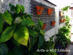Jardim na parede!