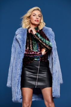 It's finally here! The latest drop in The Pippa Edit has arrived, and we couldn't be more excited! Think bold colours, statement suits, lots of party sequins and plush fabrics. Bold Colors, Colours, Slouchy Boots, Mixing Prints, Latest Fashion, Ireland, Leather Skirt, Plush, Fabrics