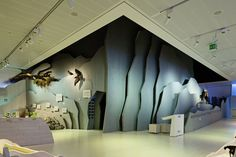 HAUS DER BERGE - Picture gallery Museum Exhibition Design, Exhibition Display, Exhibition Space, Design Museum, Booth Design, Layout Design, Museum Plan, Interactive Display, Kid Spaces