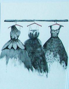 """Closet Envy"" Envy, Lights, Illustration, Closet, Fashion Design, Painting, Art, Highlight, Armoire"