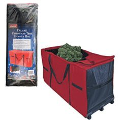 Christmas Tree Storage Bag- Heavy Duty Storage Container with Wheels Heavy Duty Woven Construction Durable Handles for Carrying Water and Tear Resistant Measures X X Durable Handle for Easy Carrying Christmas Tree Bag, Christmas Tree Storage Bag, Holiday Storage, Christmas Fun, Storage Containers With Wheels, Ornament Storage Box, Glass Food Storage, Bag Storage, Storage Area