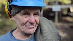 About an inspiring off-the-grid community on the island of Lasqueti The man is the photo is a very young 83 years!