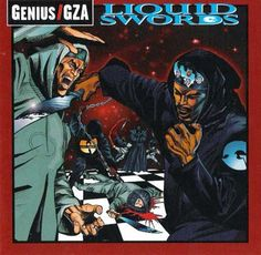 Liquid Swords by the GZA, an all time classic #hip-hop album cover