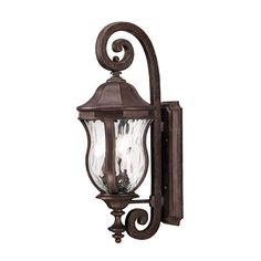 Monticello Three Light Outdoor Lantern Savoy House Wall Mounted Outdoor Outdoor Wall Lig