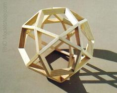 icosadodecahedron by ~RND Modelshop, via Flickr