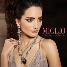 New Miglio collections Jewelry Crafts, Jewelry Bracelets, Bangles, Jewelry Accessories, Jewelry Design, Designer Jewellery, Handcrafted Jewelry, Metal Working, Jewelry Collection