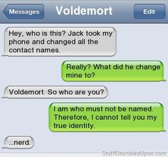 IF HARRY POTTER COULD TEXT | Autocorrect Fail Funny Text Messages Blog Funny Text Messages Meme SMS ...