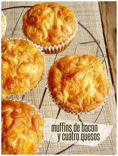 Hoy preparamos unos ricos muffins salados. Nos han quedado hermosos, ¿verdad? Una sugerencia diferente, muy versátil. Válidos para el ...