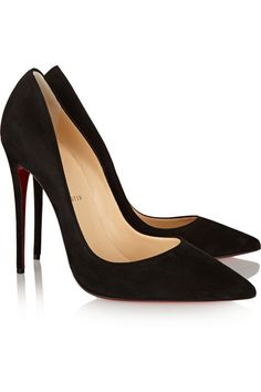 Christian Louboutin | Escarpins en daim So Kate 120 | NET-A-PORTER.COM